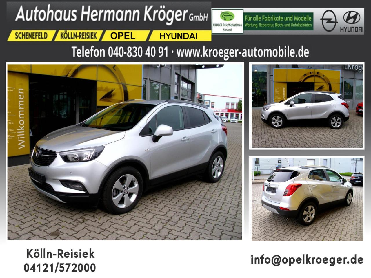 Opel Mokka X 1.4 Turbo Edition (EURO 6d-TEMP)