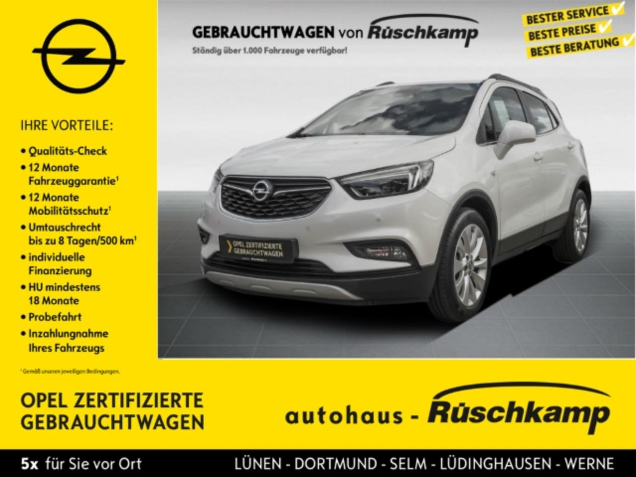 Opel Mokka X INNOVATION 1.4 Navi Perlmutt + LED-Licht