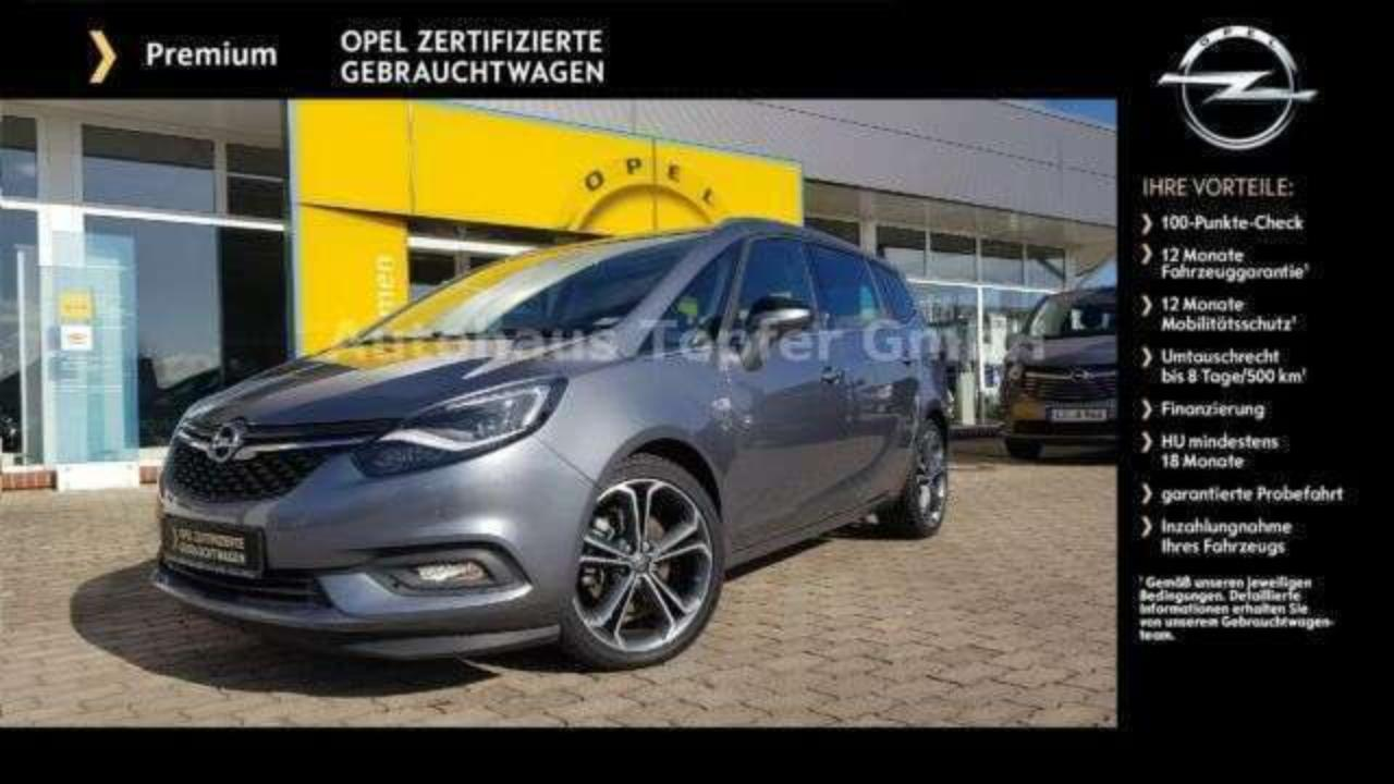 Opel Zafira 1.6 Turbo S/S > Innovation ** 19 Zoll **