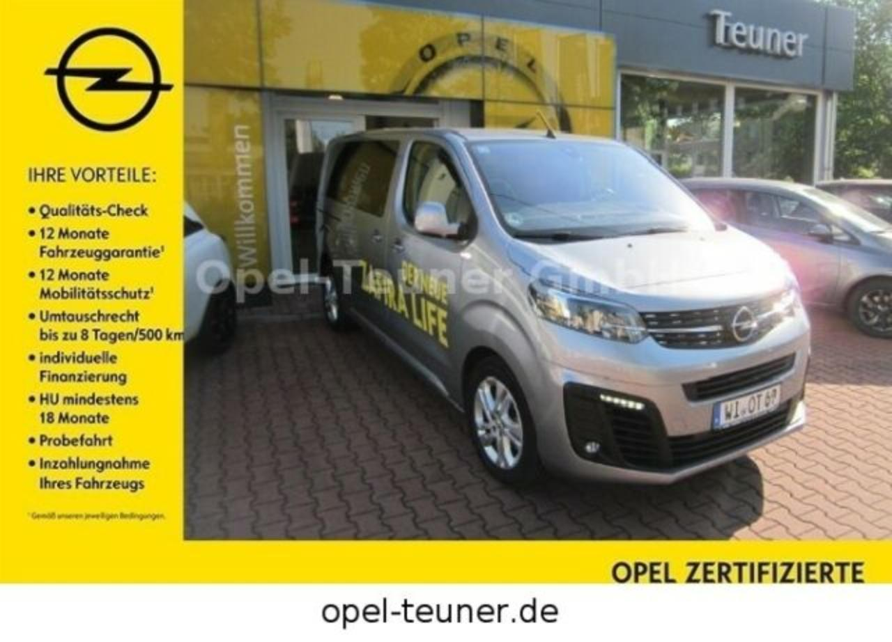 Opel Zafira Life M 2.0Selection AHK Head-Up Bi-Xenon