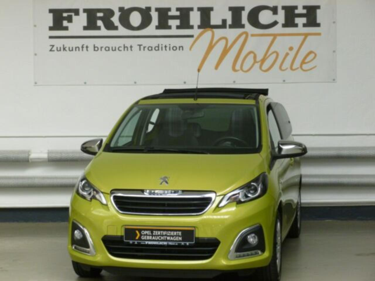 Peugeot 108 TOP Style