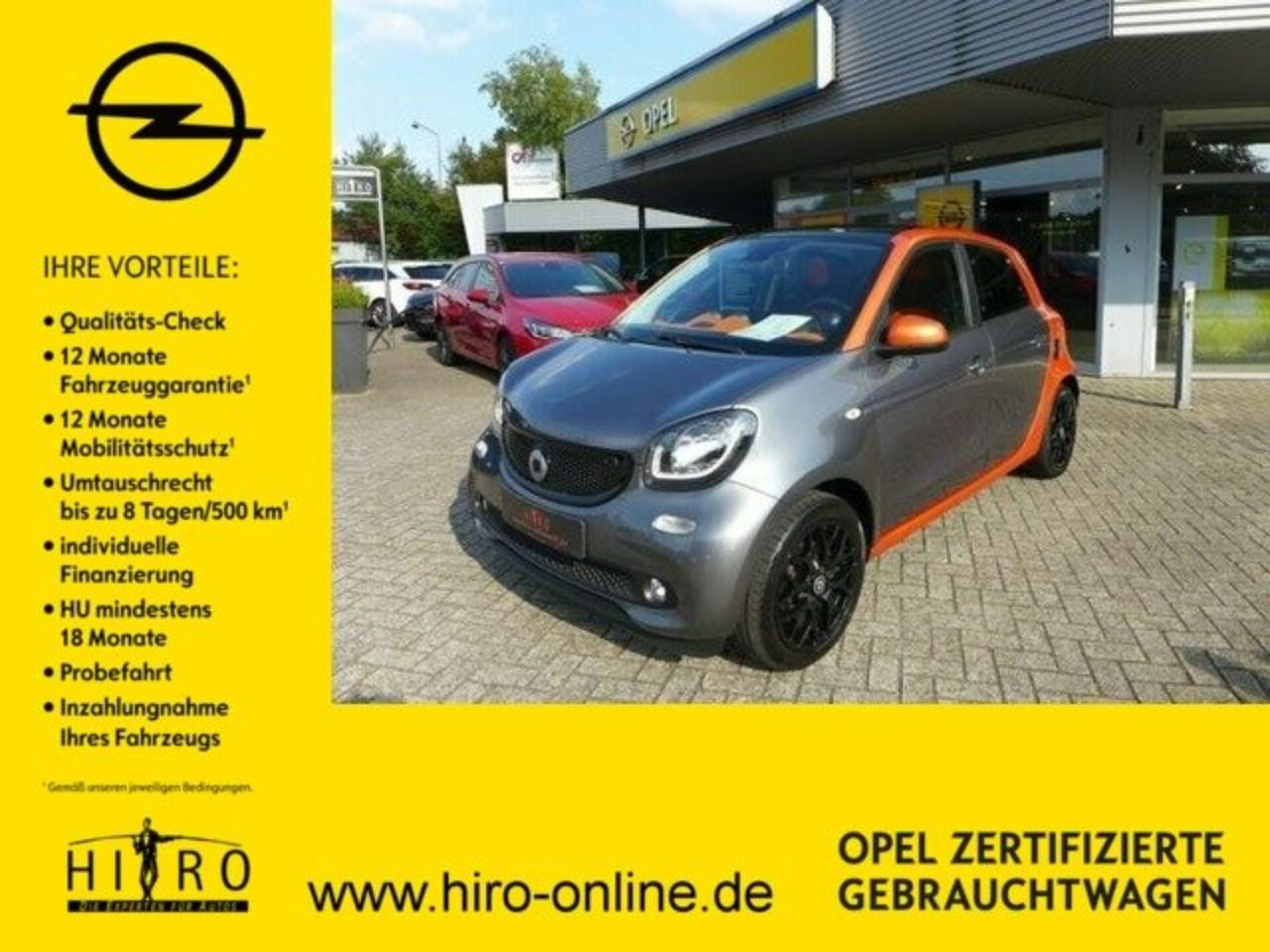 Smart Forfour Passion Edition #1 Panorama.+Navi+Sitzh.