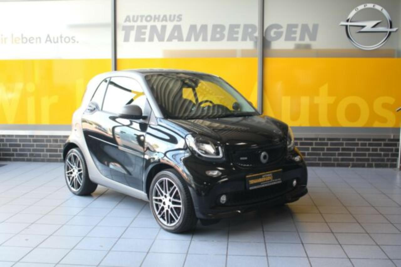 Smart Fortwo coupe Brabus Pannoramadach Bluetooth