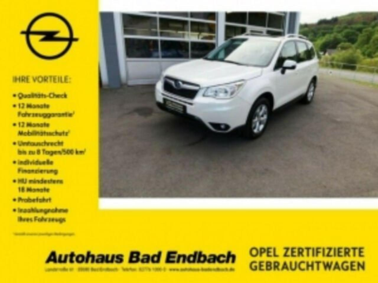 Subaru Forester Exclusive