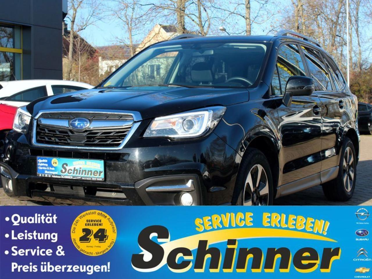 Subaru Forester 2.0D Lineartronic Exclusive Modell wie 2018