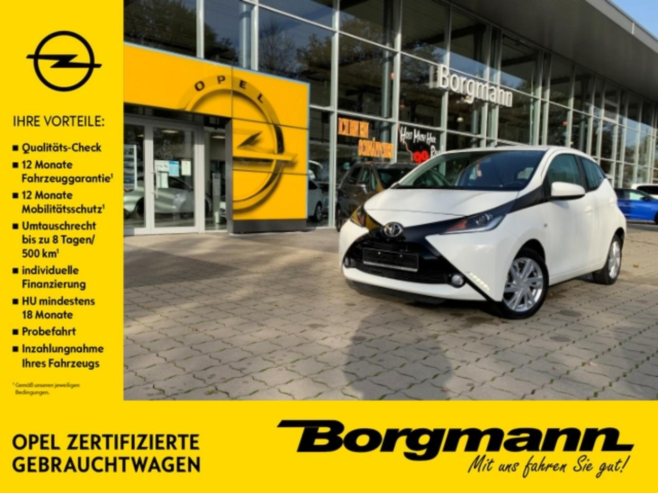 Toyota Aygo touch 1.0 Tagfahrlicht - Bluetooth - MP3 - Radio