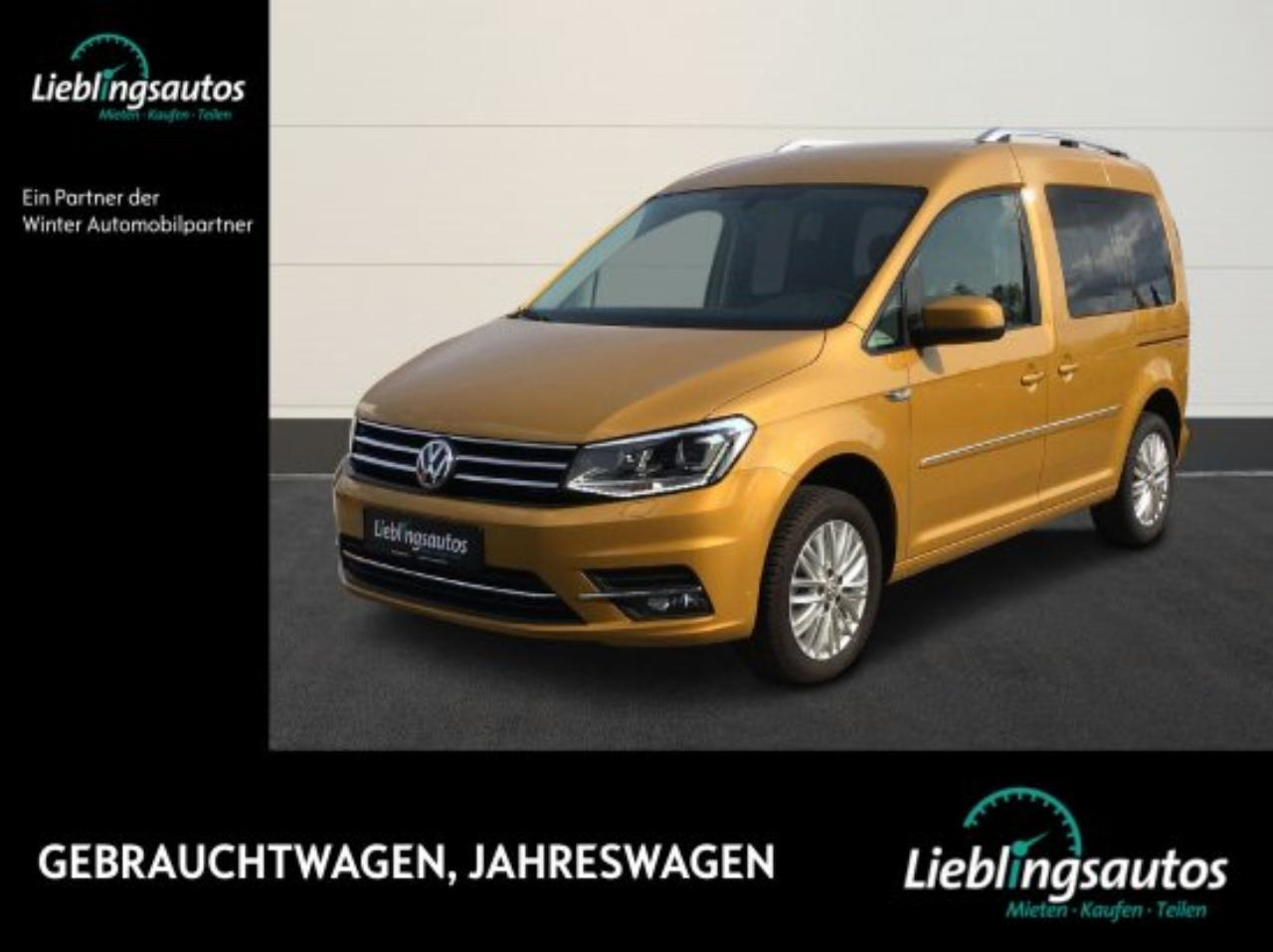 Volkswagen Caddy 1.4 TSI Highline LED NAVI KAMERA