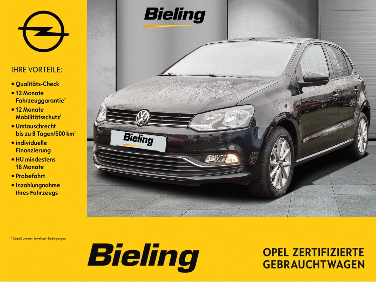 Volkswagen Polo Lounge 1.0 Ltr. - 55 kW (75 PS)