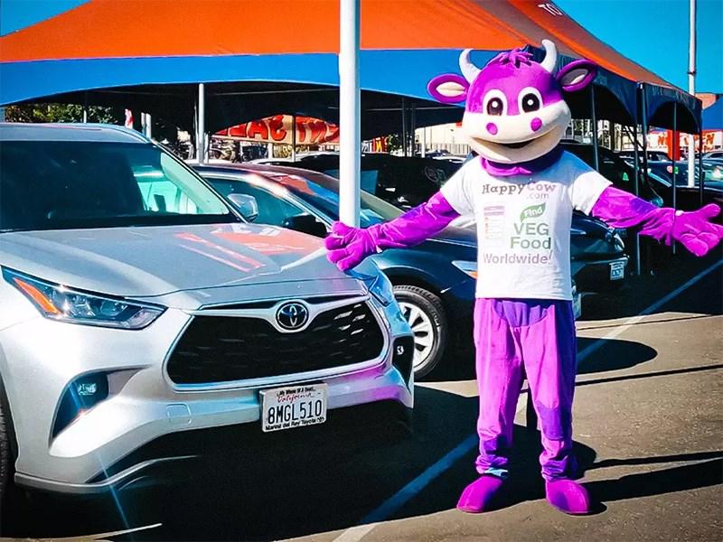 Toyota и Lexus любят вегетарианцев