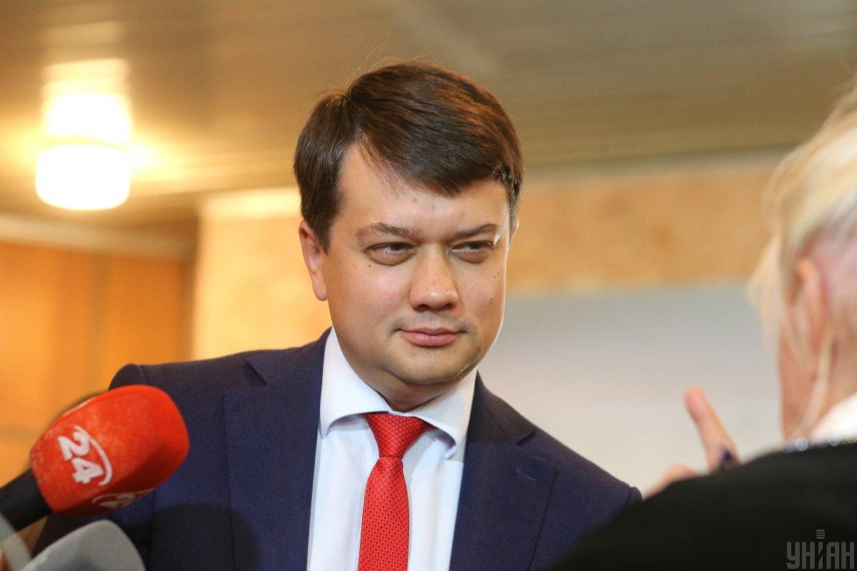 """""""Это недопустимо"""": Разумков выбранил первого кнопкодава Рады нового созыва"""