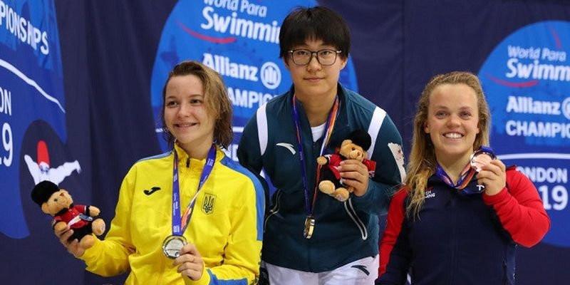 Херсонка Елизавета Мерешко завоевала золотую и серебряную медали на Чемпионате мира по параолимпийскому плаванию в Лондоне