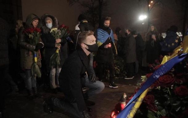 У Києві пройшла хода до річниці Євромайдану