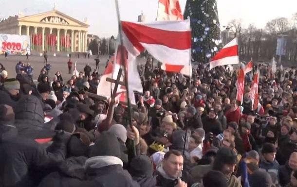 У Мінську розпочалися протести проти інтеграції з РосієюРегіони