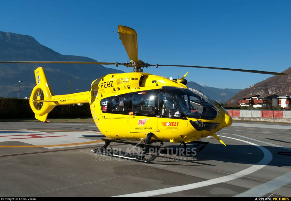 В Италии при взлете разбился государственный вертолет