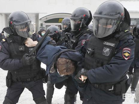 В России начались новые протесты в поддержку Навального. Задержаны свыше 1600 человек. Онлайн-репортаж