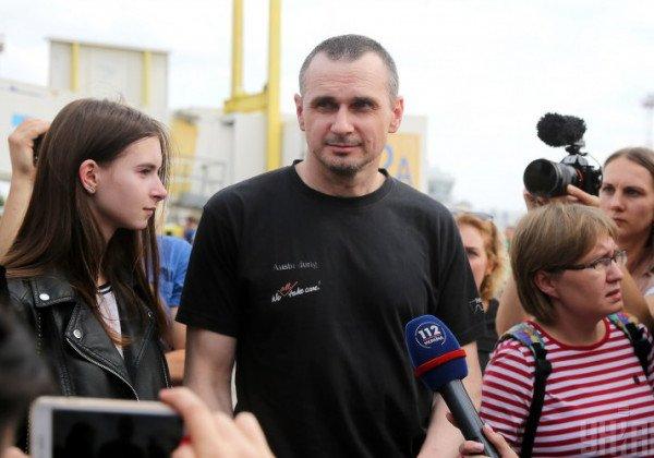В России назвали освобождение Сенцова событием года
