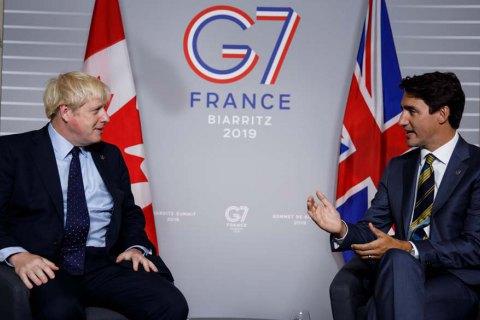 Велика Британія і Канада підписали торговельну угоду на 27 мільярдів доларів