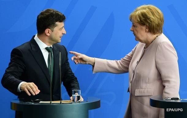 З'явилися деталі розмови Зеленського з Меркель