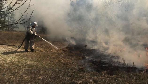 Лісові пожежі на Житомирщині: уряд вимагає вирішити питання із житлом для погорільців
