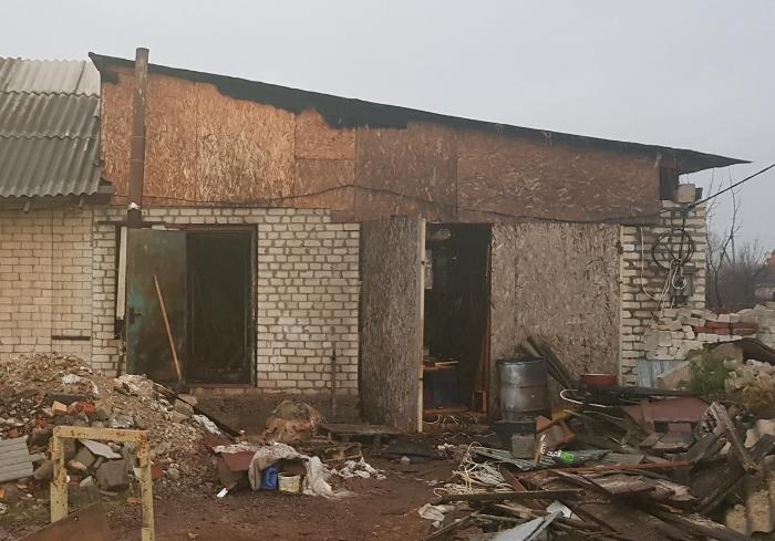В Харьковской области произошел пожар в частном домовладении
