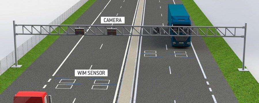 В області розпочали встановлення системи автоматичного зважування транспорту в русі