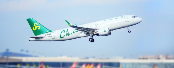 Spring Airlines продает авиабилеты за цифровые юани
