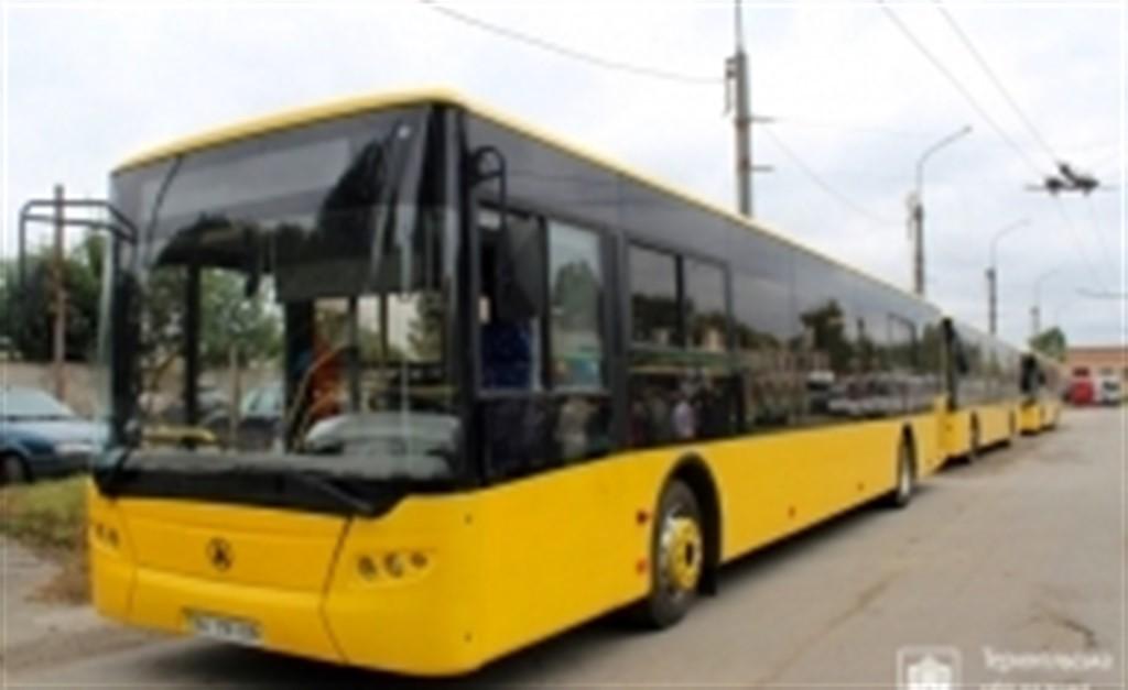 Цього тижня транспорт Тернополя доповниться двома сучасними автобусами