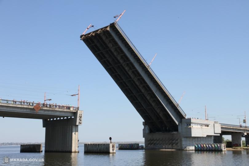 Когда разведут Николаевские мосты?