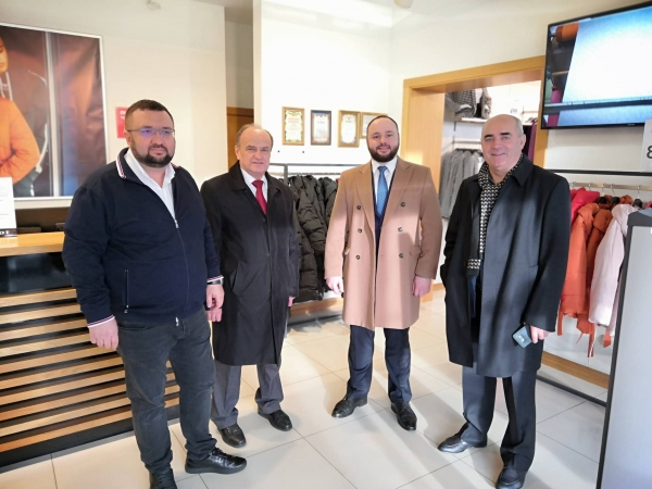 Льонокомбінат Рівного відвідали очільники Федерації роботодавців України (ФОТО)