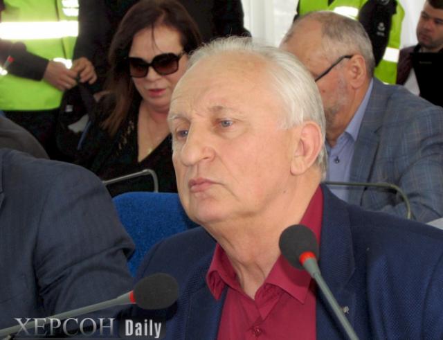 Мэр Херсона уволил главврача Тропинки