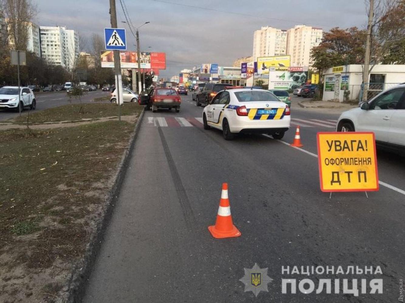 На поселке Котовского ВАЗ сбил мужчину