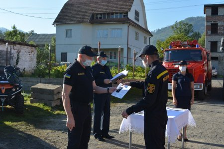 На Воловеччині та Свалявщині відбулися заходи, присвячені Дню рятівника