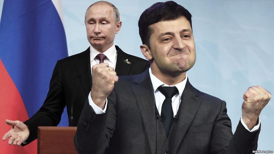 Несистемный Зеленский против системы Путина - Test Randomize Word