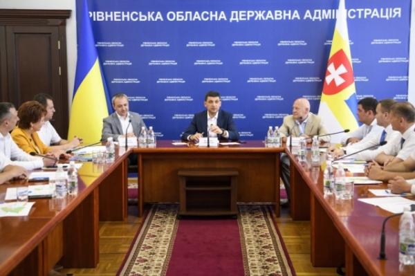 Прем'єр-міністр Українивідзначив, що децентралізація на Рівненщині має успіхи - Экстренные новости