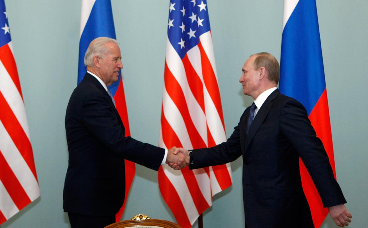 """""""Путін - вбивця!"""". Байден прийшов, порядок наведе"""