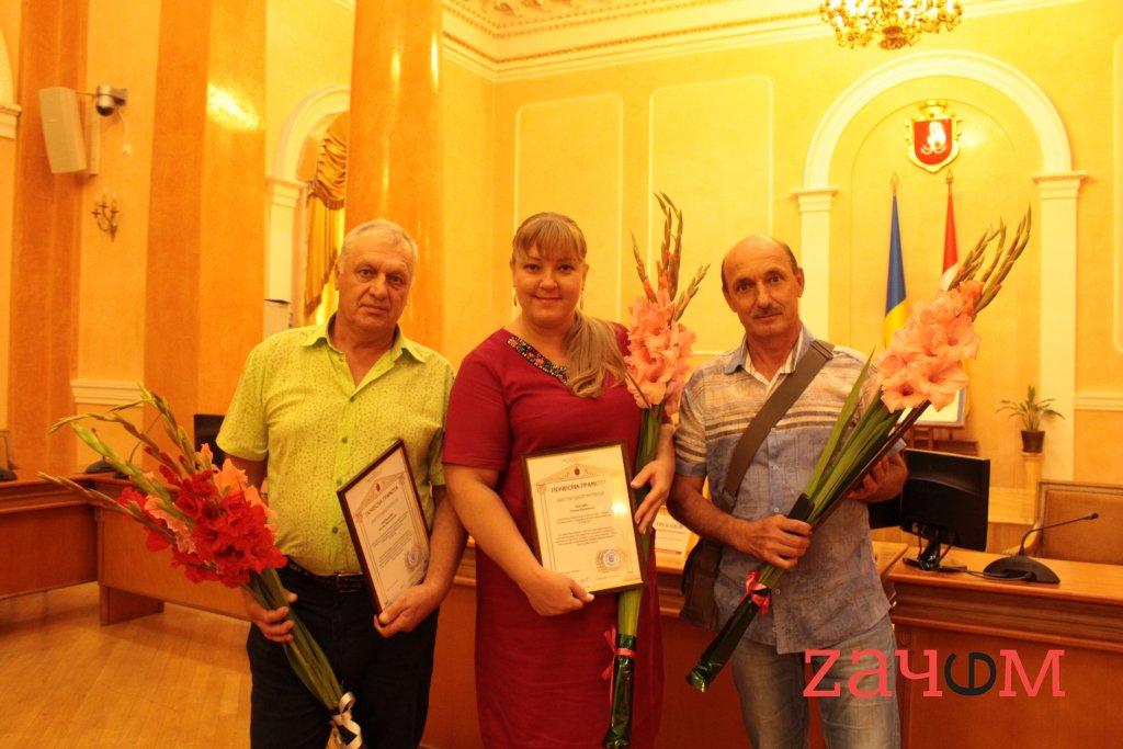 Среди лучших: в Одесской мэрии наградили сотрудников строительного альянса «KONA»