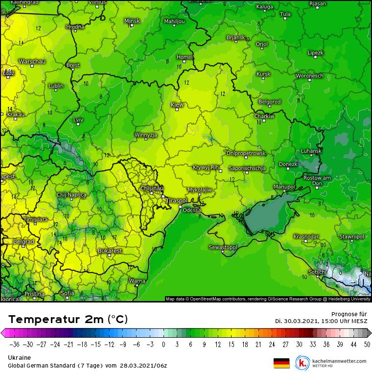 Сумські синоптики прогнозують тепло і невеликі опади