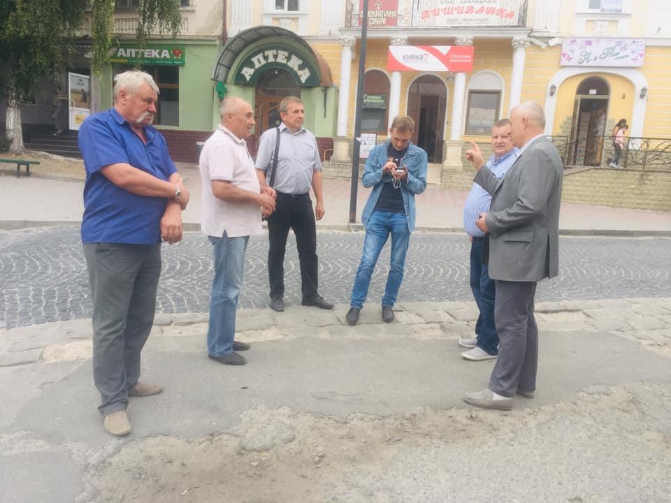 У центрі Бережан скоро відбудеться капітальний ремонт