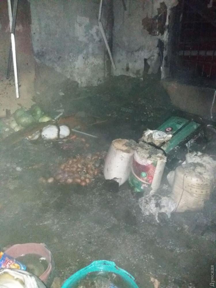 ВОдесской области произошел пожар впродуктовом магазине (обновлено, фото)