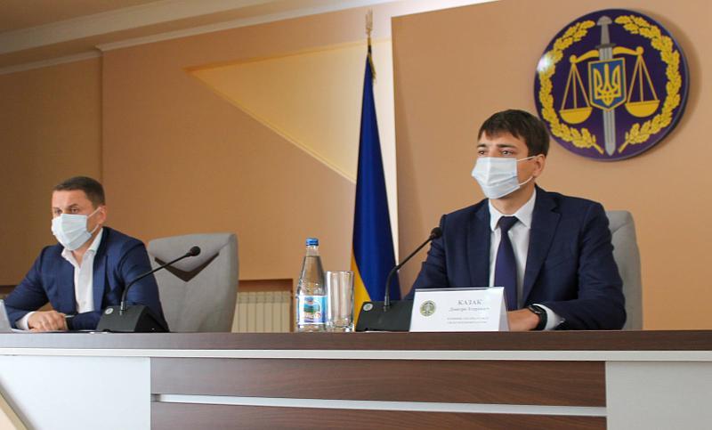 Заступник Генпрокурора представив керівника закарпатської прокуратури Дмитра Казака