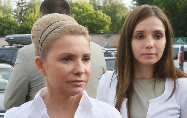 Юдия Тимошенко одолжила дочери 112 млн