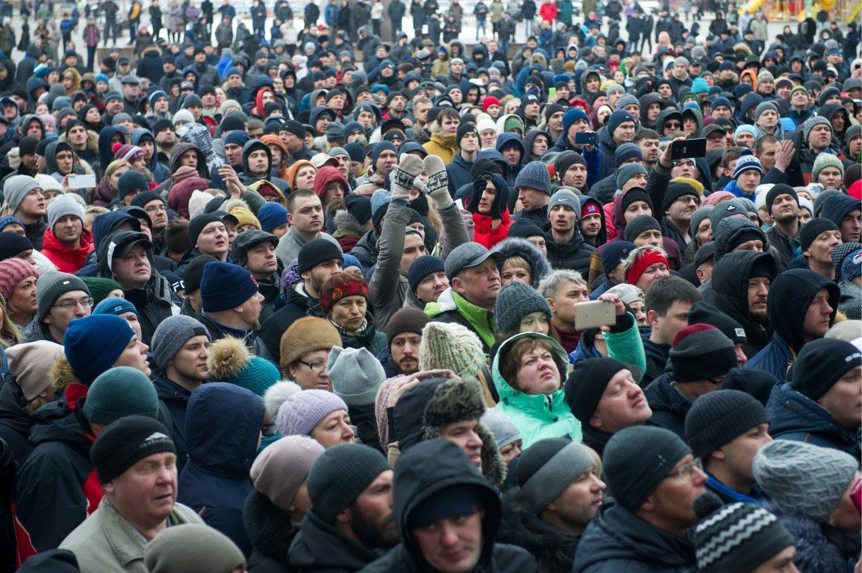 За год количество украинцев, недовольных тем как развиваются события в стране, выросло вдвое, до рекордных 78,3%, - опрос