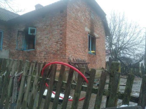 На Тернопільщині збирають допомогу для сім'ї, в якої згорів будинок