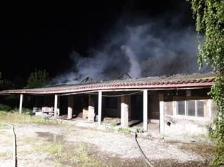 В Белозерке горел столярный цех, а в Борозенском -  сеновал - Редакция UNP