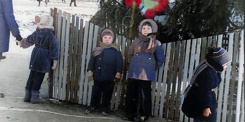 Как Киев встречал Новый год полвека назад: в сети вспомнили архивные фото