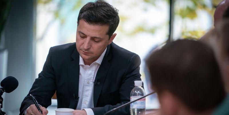 """""""Шантажа не было"""": Зеленский о телефонном разговоре с Трампом"""