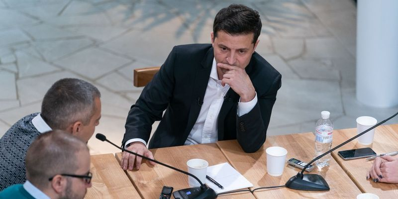 Зеленский о президентстве: Это не было моей мечтой, я за это не держусь