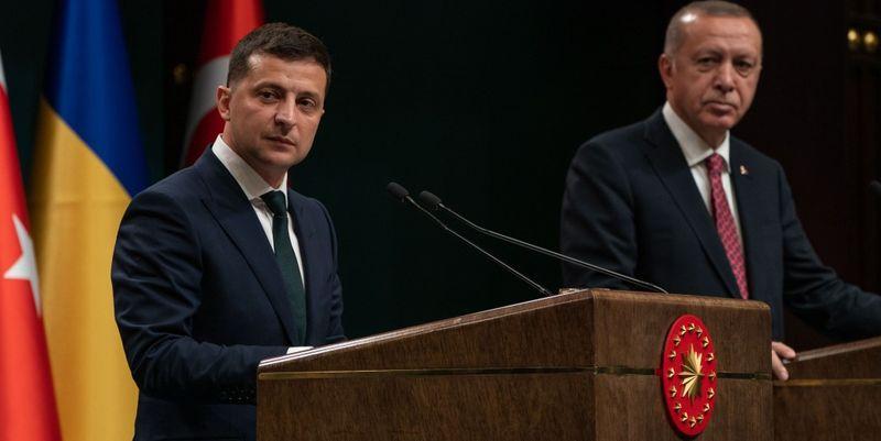 Зеленский: С Турцией у нас сейчас очень неплохие отношения
