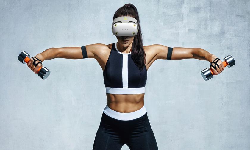 VR-шлем для фитнеса HTC Vive Air ещё не вышел, а уже получил награду iF Product Design Award