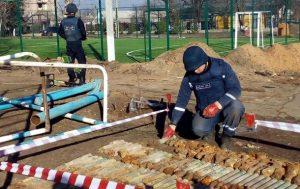 У школі на Одещині знайшли 350 боєприпасів